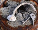 Holey stone key holder