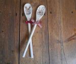 Personalized wooden spoon Easter