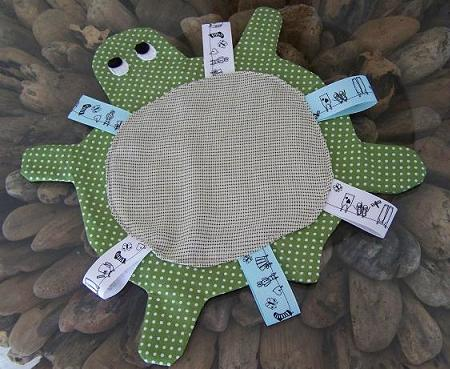 Turtle tag blanket