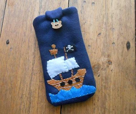 Pirate camera case mobil case kindle case