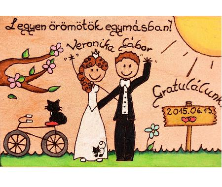 Congratulation wedding personalized gift