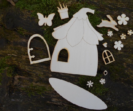 Personalizable Fairy door