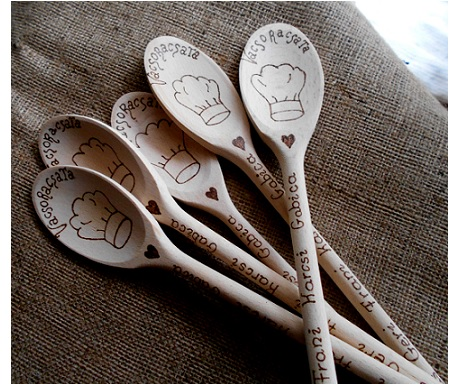 Come Dine With Me Personalised Wooden spoon