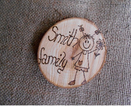 Family personalized door sign