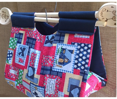 Fabric casserole carrier