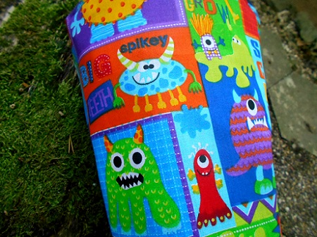 Schultüte monsters sewn