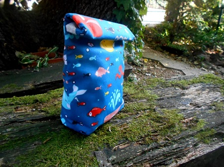 Fish reusable lunch bag
