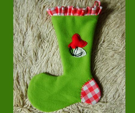 Gift holder Santa Claus boots